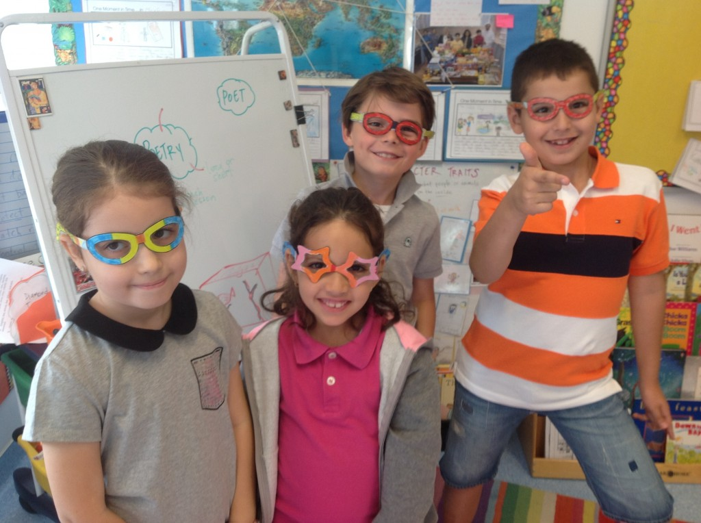 We've got our POET GLASSES on and we're ready to see the world in a new and exciting way!